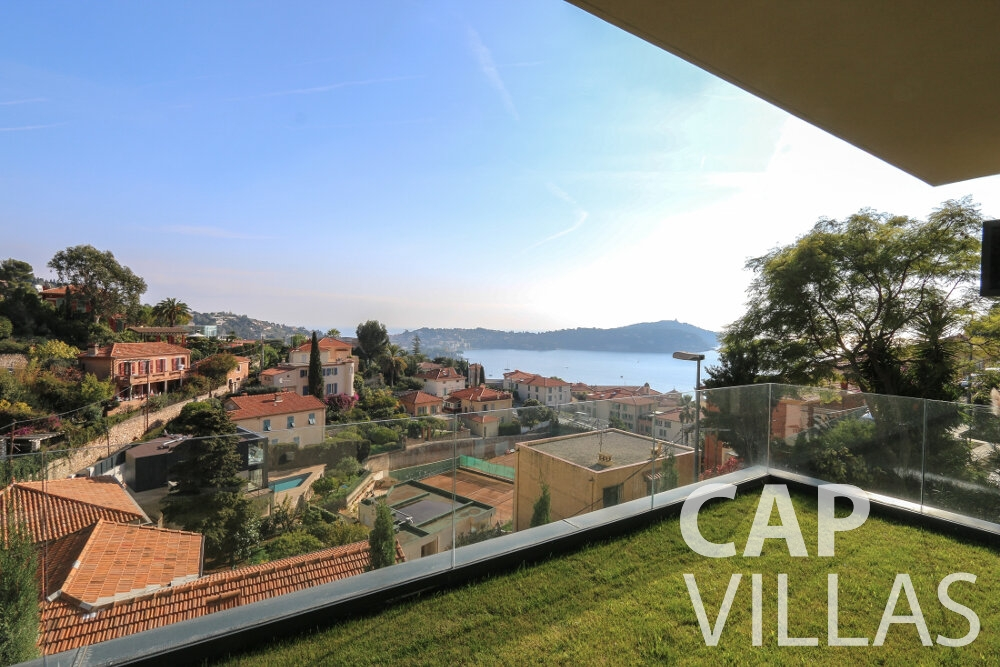 villa for sale villefranche terrace sea view