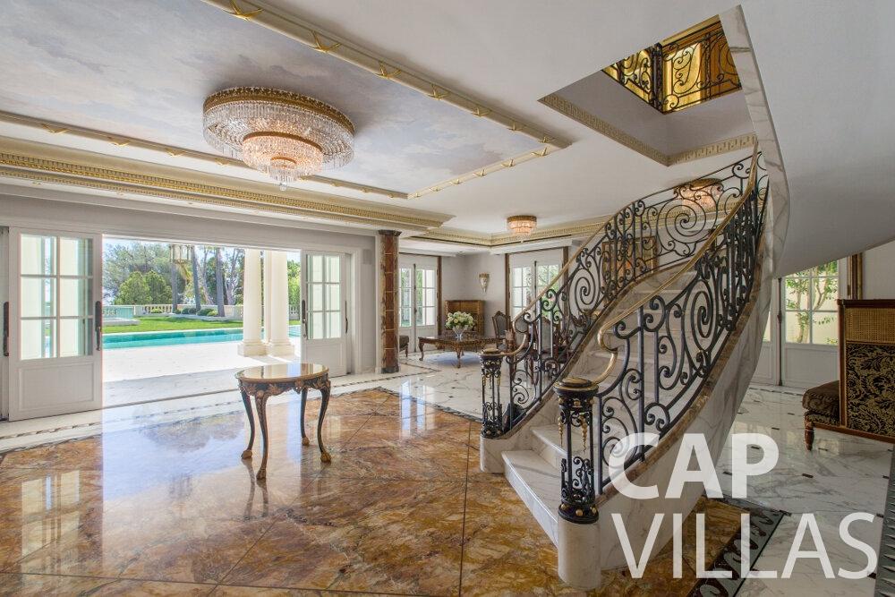 property for sale cap ferrat staircase