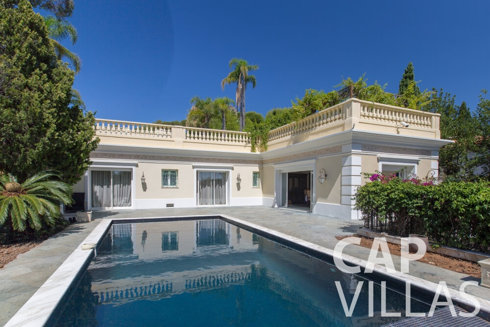 property for sale cap ferrat villa pool