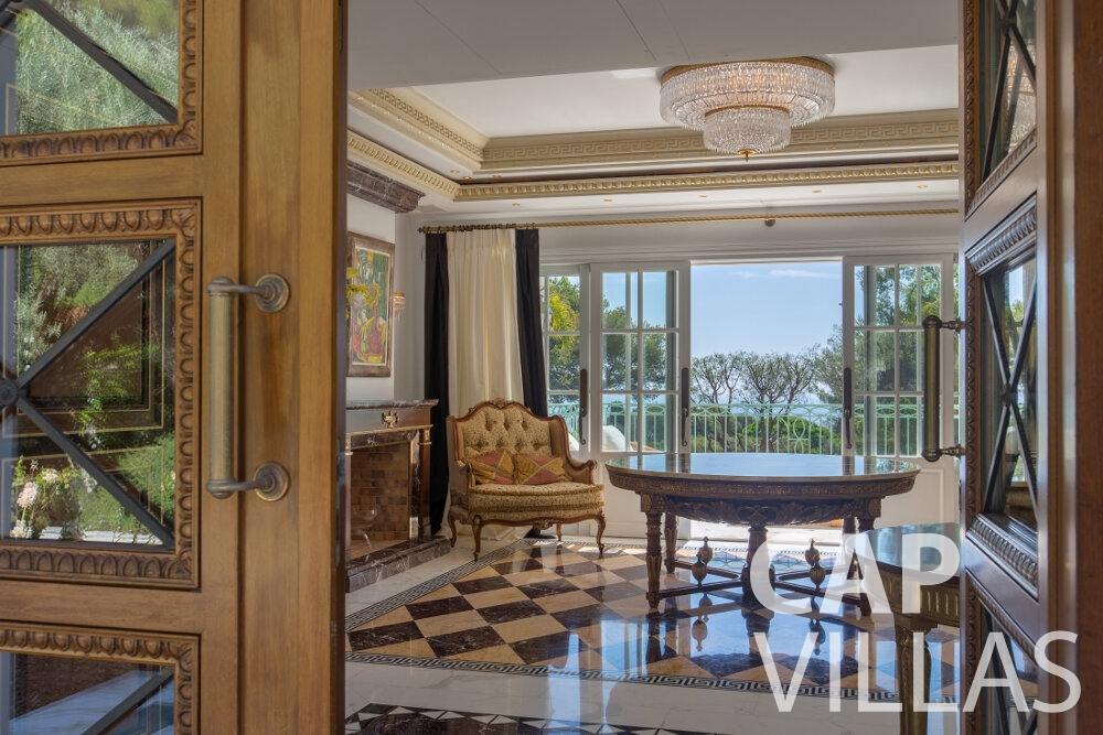 villa for sale cap ferrat room