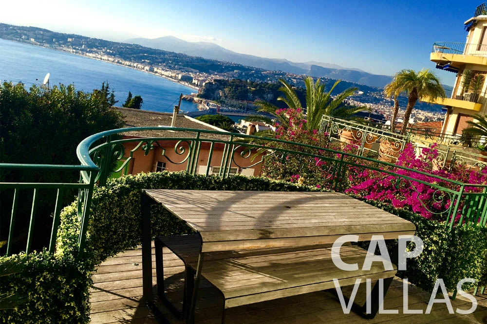 apartment for let nice mont boron bedroom seaview