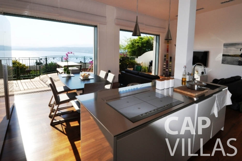 apartment for rent nice mont boron living room sea view