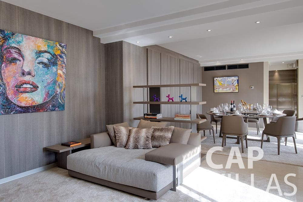 holiday rental Villa Anna anna cap martin roquebrune living area