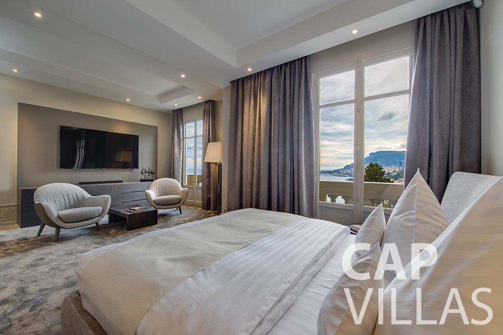 rent Villa Anna anna cap martin roquebrune bedroom