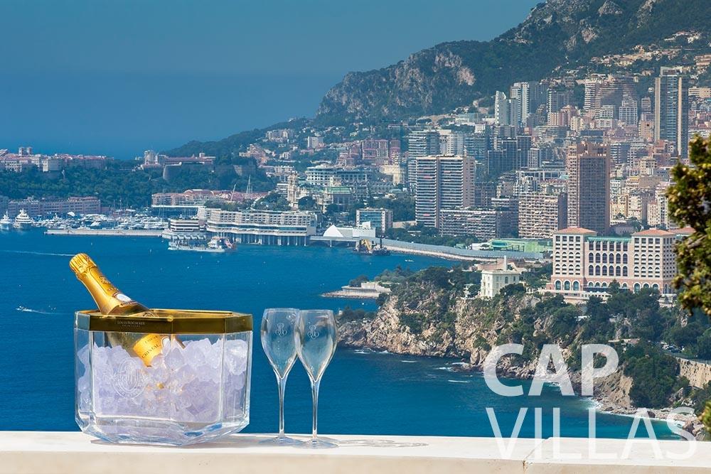 rent Villa Anna anna cap martin roquebrune panoramic sea view