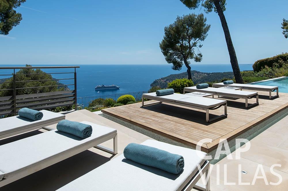 holiday rental villefranche sur mer Villa Bayview bayview terrace