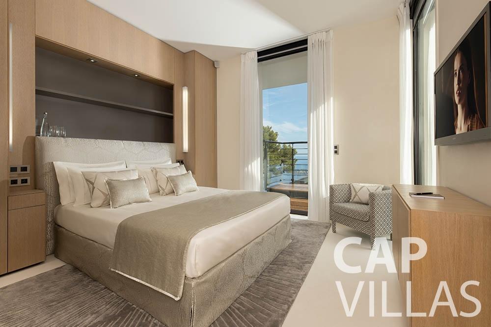 rent Villa Bayview villefranche sur mer Villa Bayview bayview bedroom