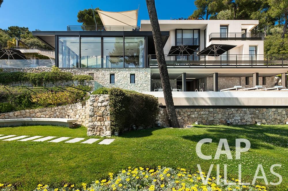 Property for sale Villa Bayview villefranche sur mer villa bayview garden