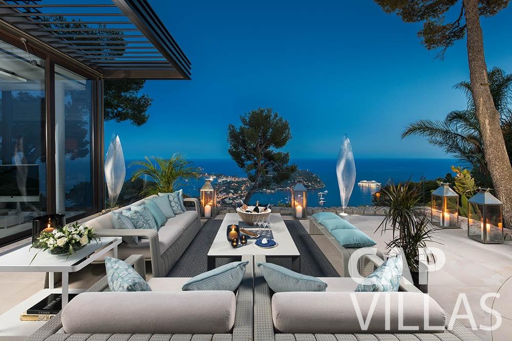 rent Villa Bayview villefranche sur mer Villa Bayview bayview terrace