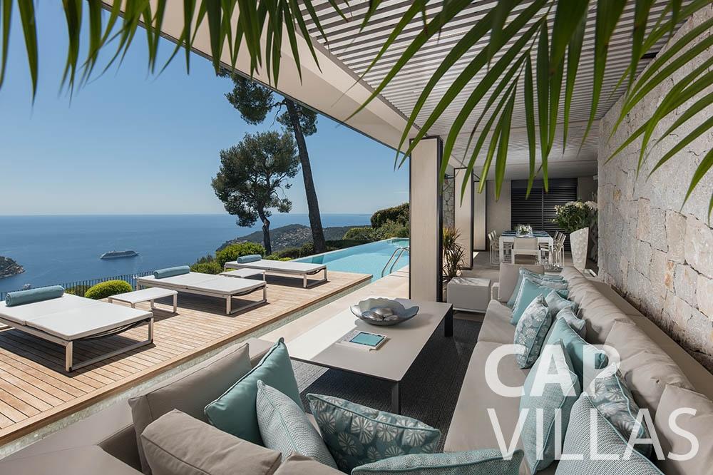 rent Villa Bayview villefranche sur mer Villa Bayview bayview terrace sea view