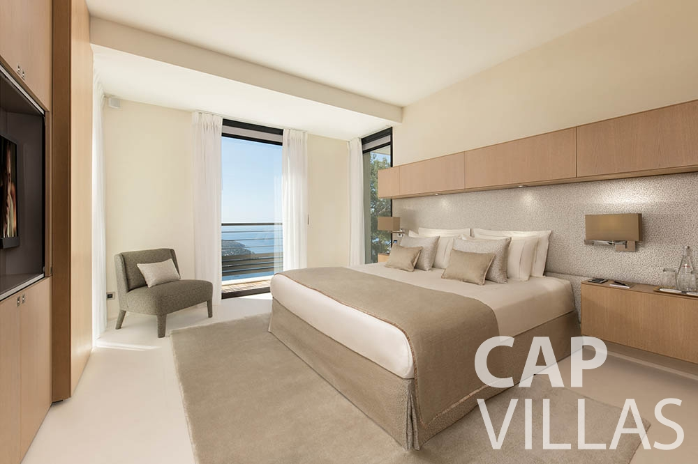 vacation rental villefranche sur mer Villa Bayview bayview bedroom