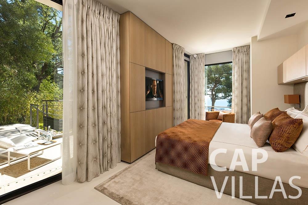 Villa Bayview for rent villefranche sur mer Villa Bayview bayview bedroom