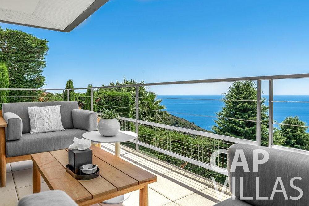 let Villa Bella bella saint laurent d eze sea view