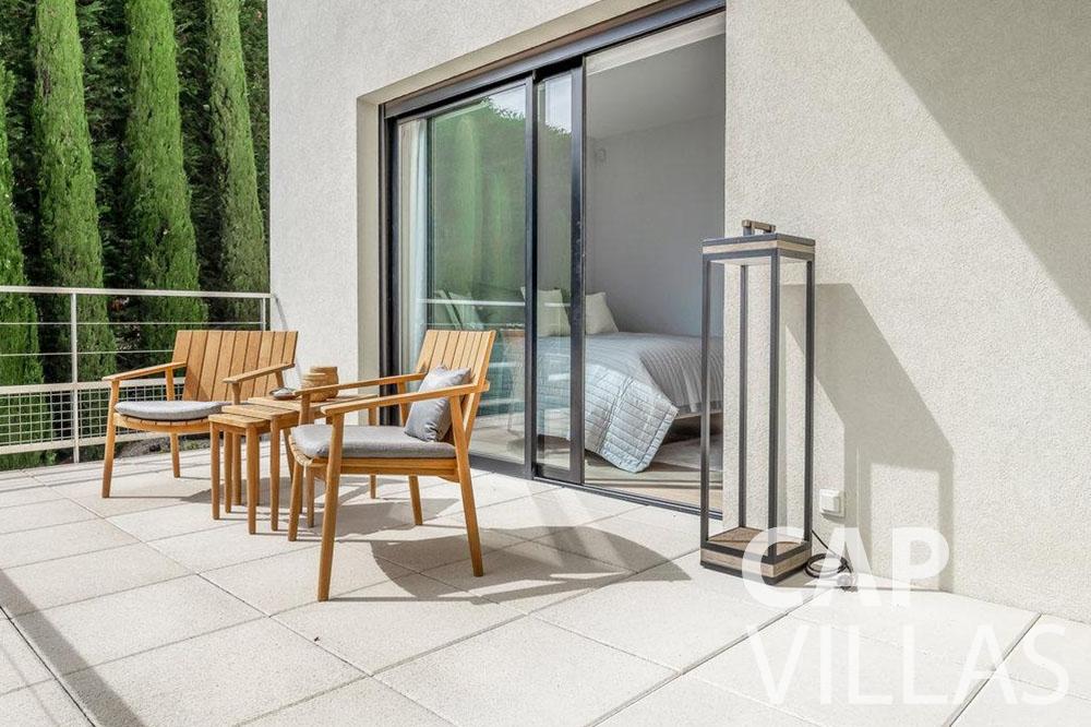 rent Villa Bella bella saint laurent d eze terrace