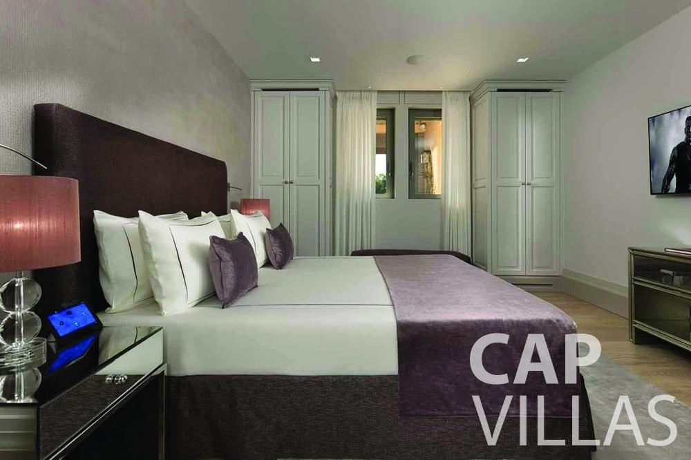 holiday rental bellevue villefranche sur mer bedroom