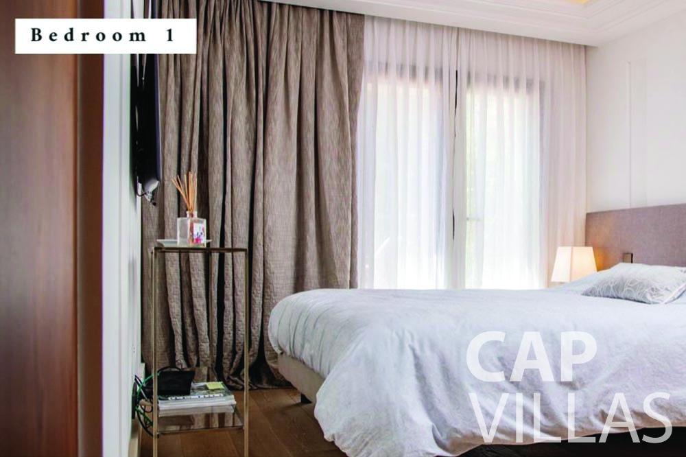 holiday rental Villa Bellevue bellevue villefranche sur mer bedroom