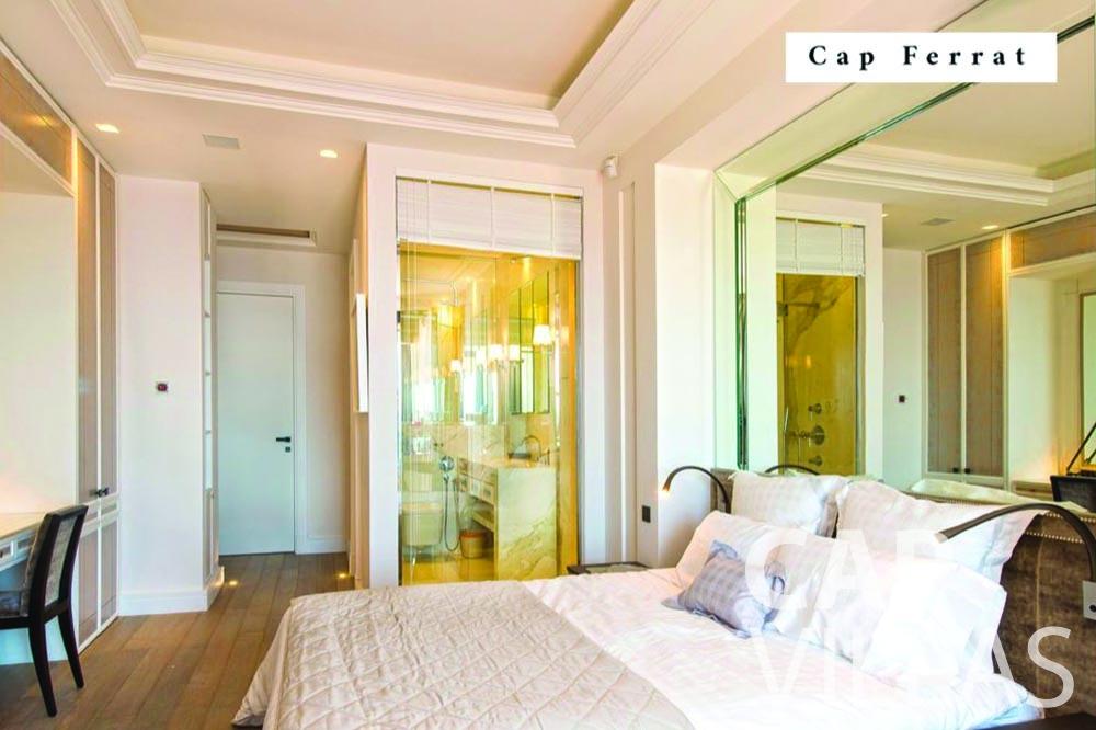let Villa Bellevue bellevue villefranche sur mer bedroom