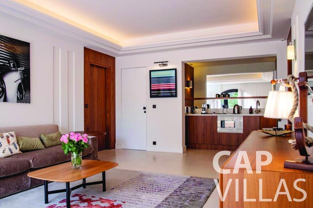 rent Villa Bellevue bellevue villefranche sur mer guest room