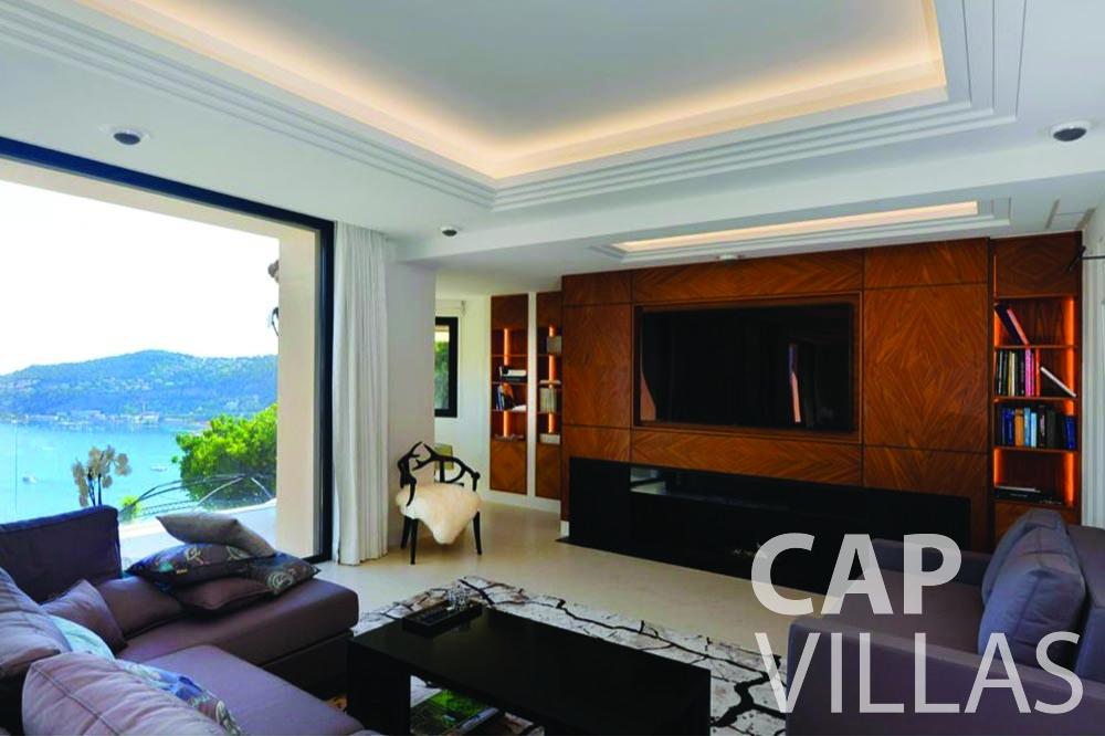 rent Villa Bellevue bellevue villefranche sur mer living room