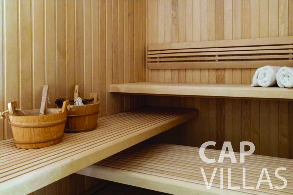 rent Villa Bellevue bellevue villefranche sur mer sauna