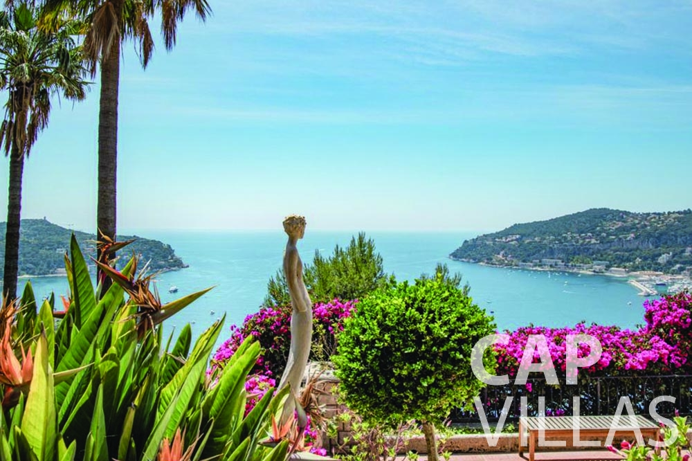 rent Villa Bellevue bellevue villefranche sur mer sea view