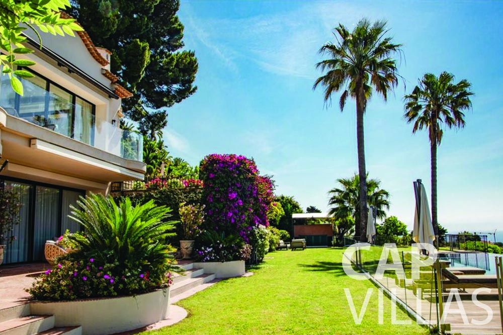rent Villa Bellevue bellevue villefranche sur mer terrace