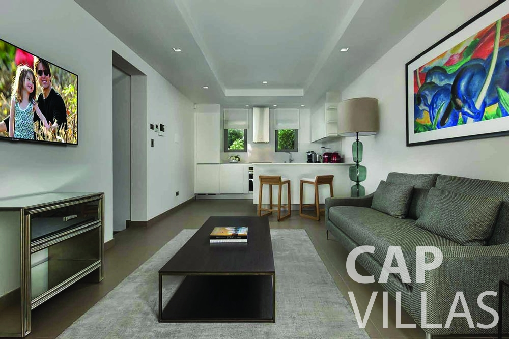 Villa Bellevue for let bellevue villefranche sur mer living area