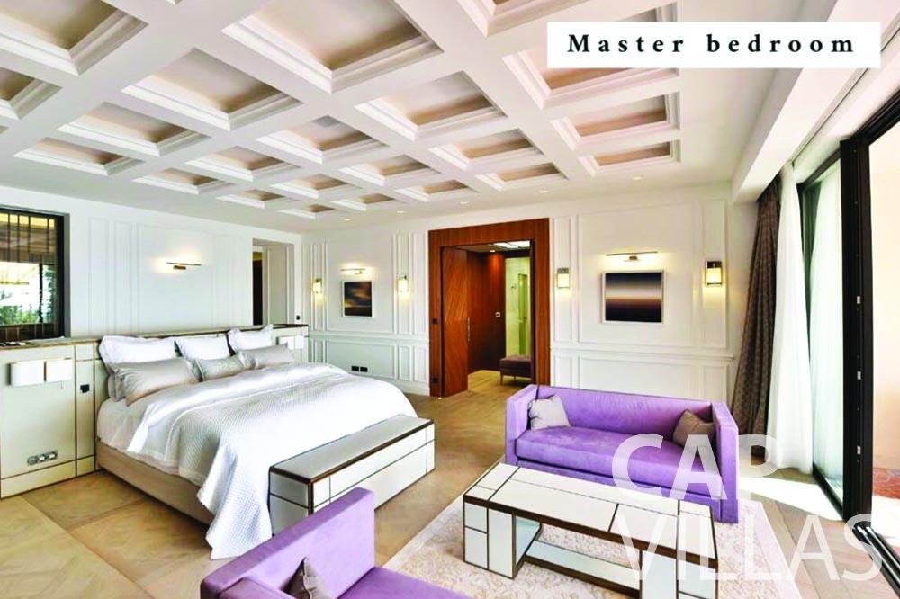 Villa Bellevue for rent bellevue villefranche sur mer bedroom