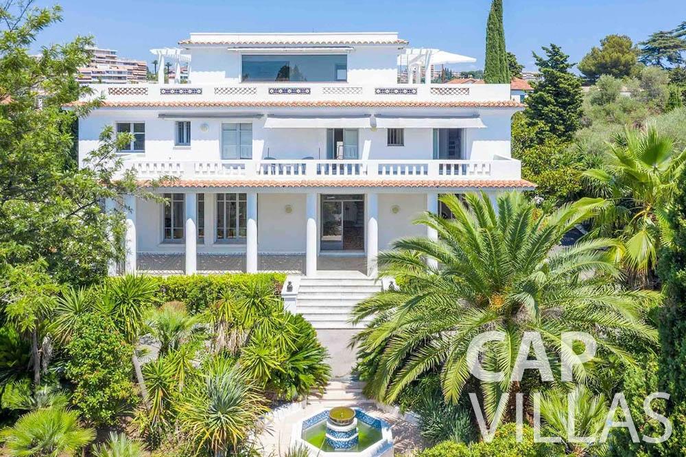 Villa Bianca for rent cap dantibes bianca main view