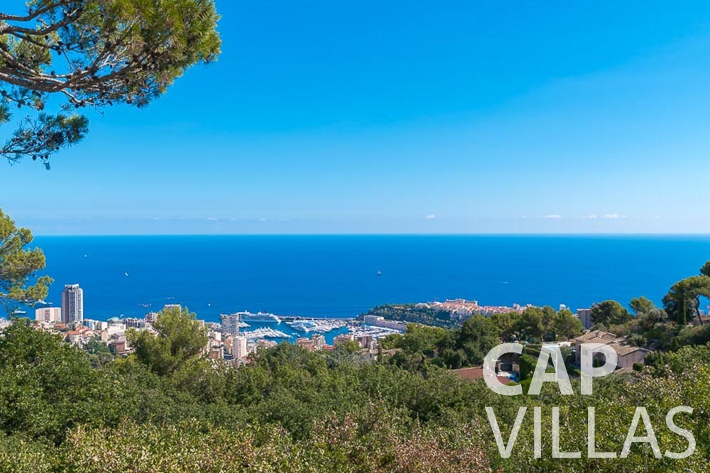 Holiday House for sale Villa Bonna roquebrune cap martin bonna sea view