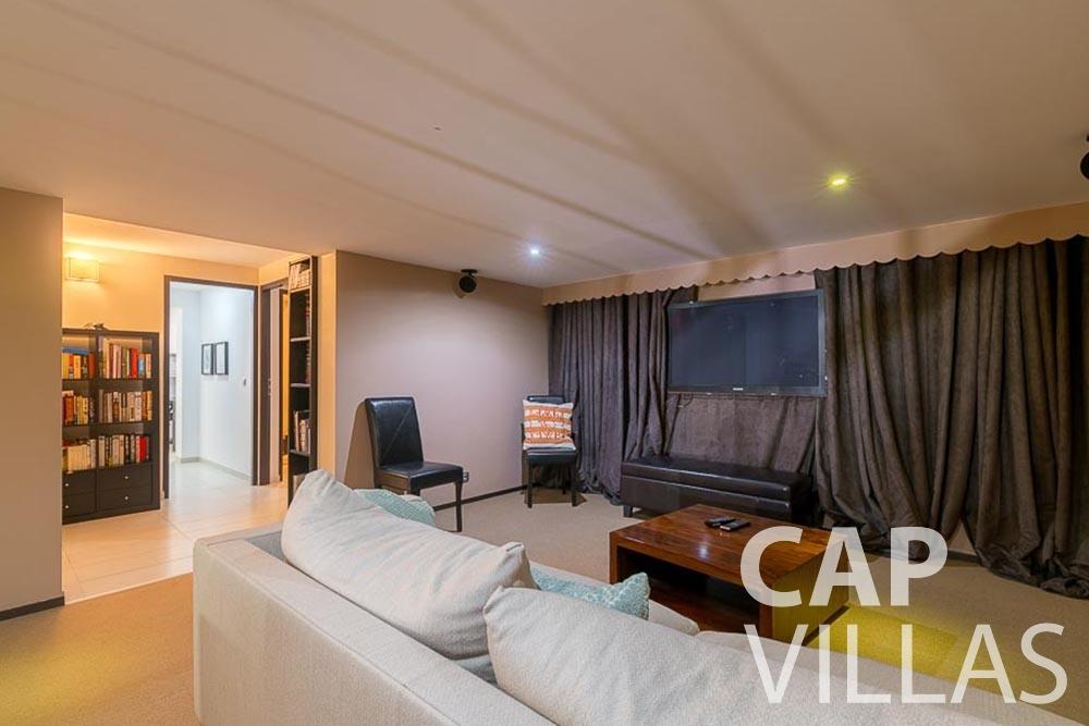 Villa Bonna for rent roquebrune cap martin bonna living area