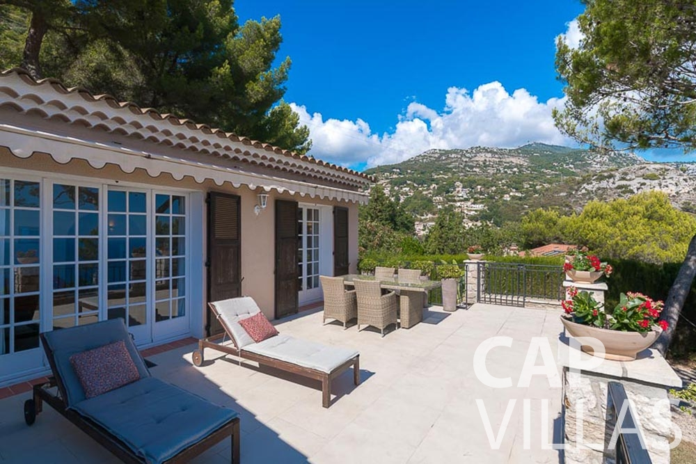 villa for rent roquebrune cap martin bonna terrace