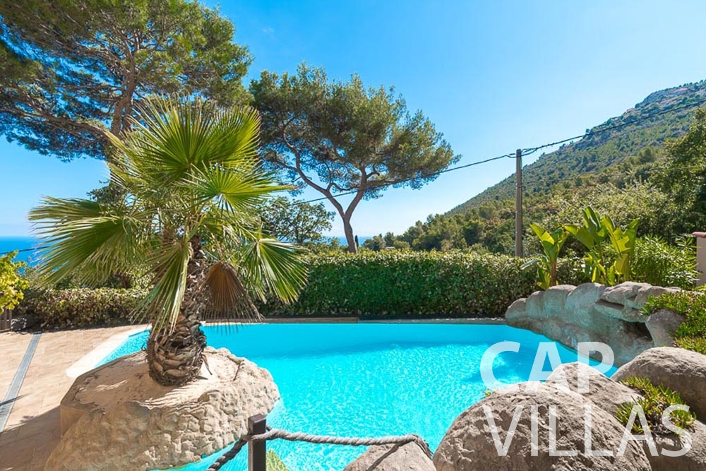 villa for rent roquebrune cap martin bonna villa swimming pool seaview
