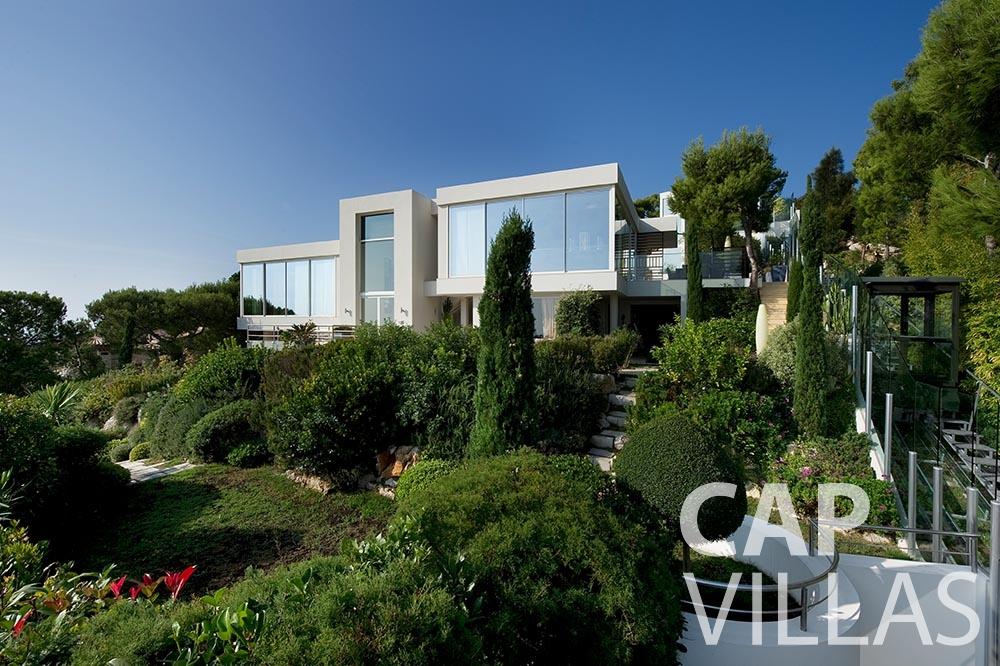 let Villa Coco cview saint jean cap ferrat property view