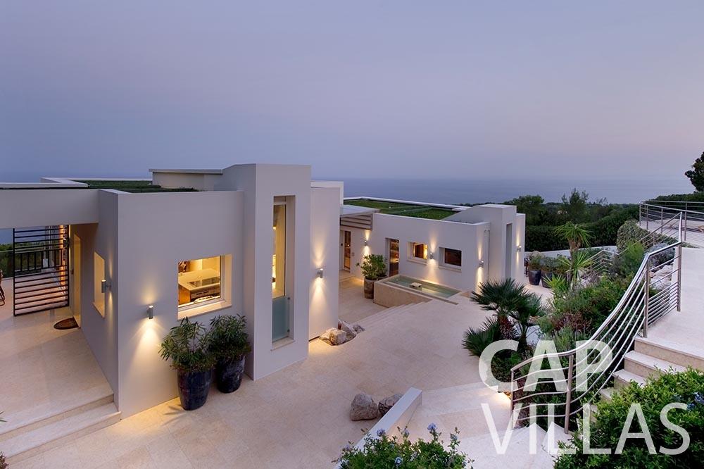 rent Villa Coco cview saint jean cap ferrat property sea view