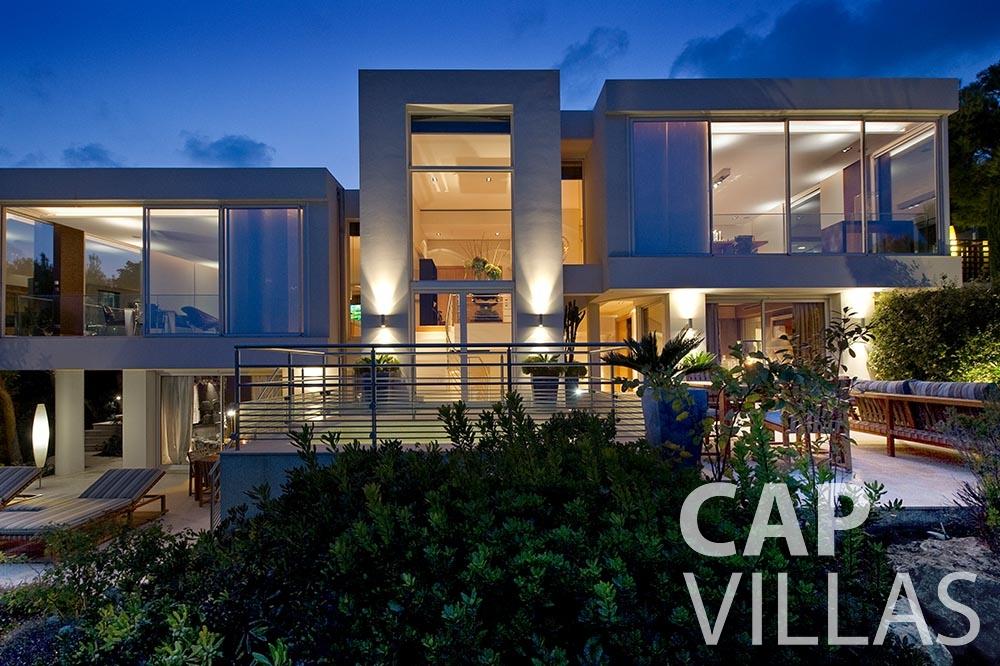 rent Villa Coco cview saint jean cap ferrat property view