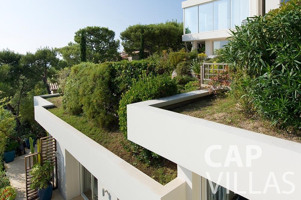 rent Villa Coco cview saint jean cap ferrat terrace garden