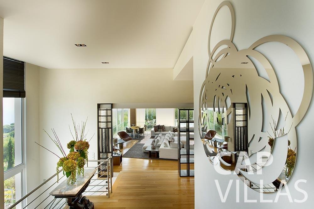 vacation Villa Coco cview saint jean cap ferrat living area