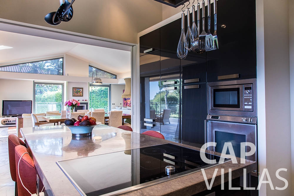 Villa du Cap Ferrat for rent st jean cap ferrat du cap kitchen