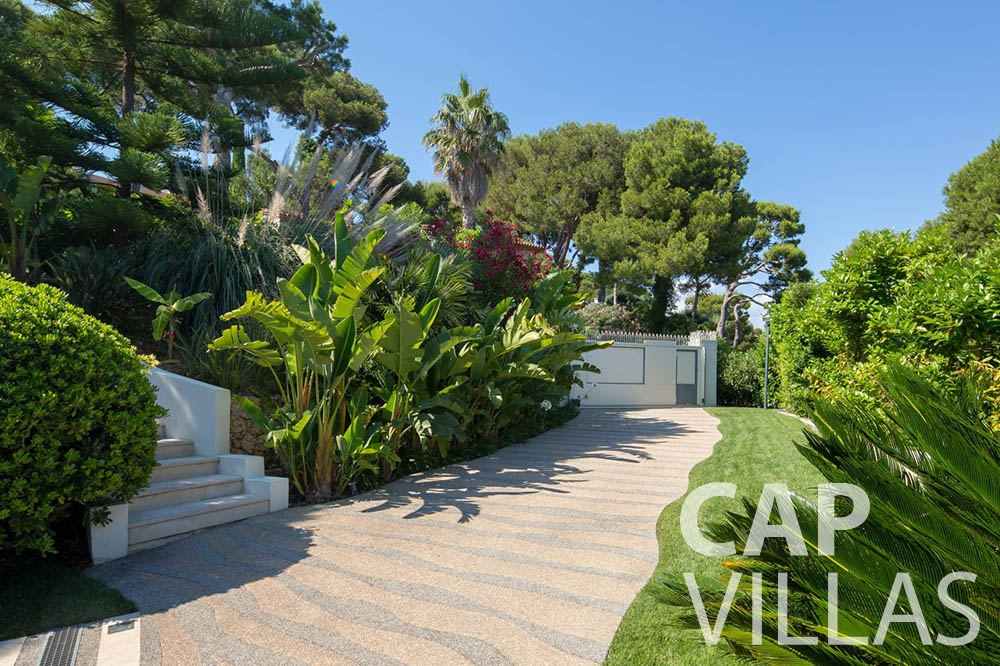 Villa du Cap Ferrat for rent st jean cap ferrat du cap outdoors