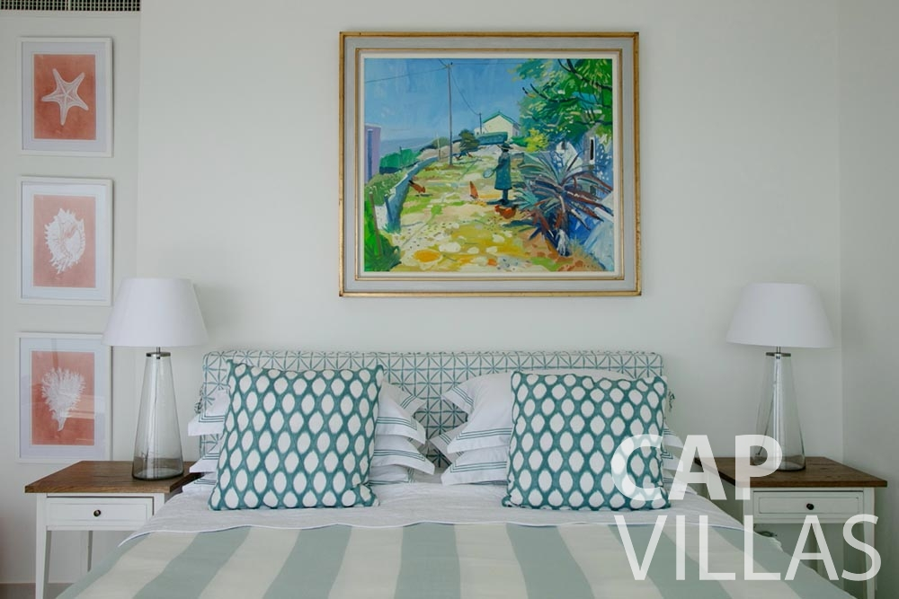 holiday rental Villa Emma roquebrune cap martin emma bedroom