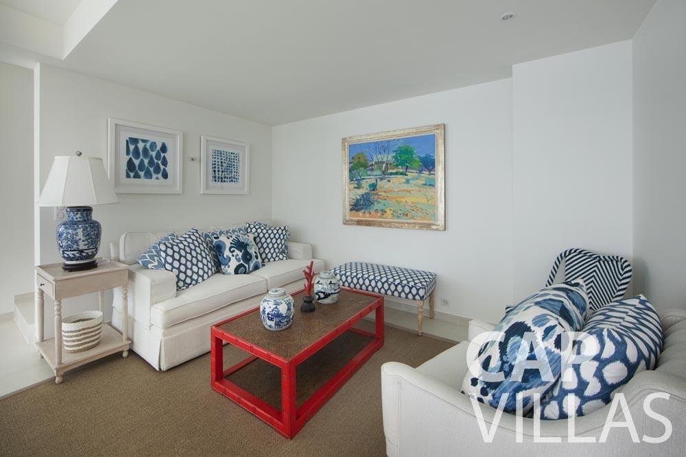 let Villa Emma roquebrune cap martin emma living area