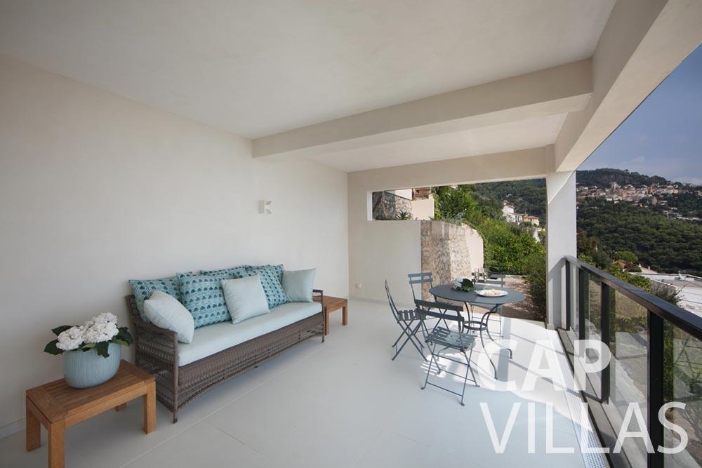 let Villa Emma roquebrune cap martin emma terrace