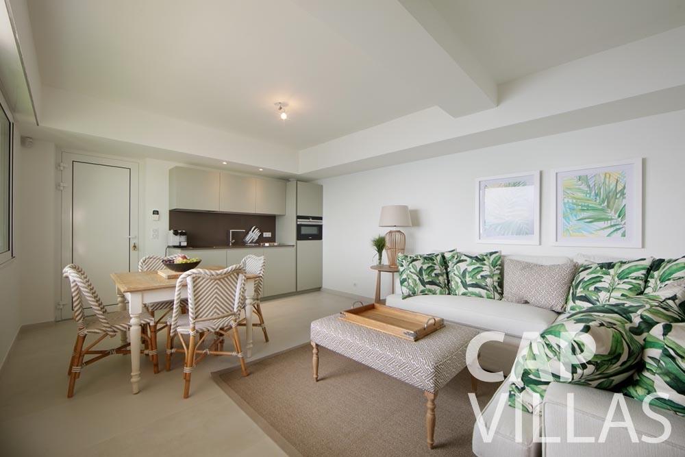 rent Villa Emma roquebrune cap martin emma living room