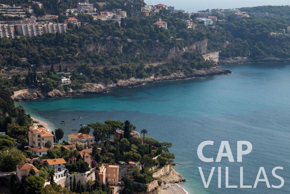 rent Villa Emma roquebrune cap martin emma sea view