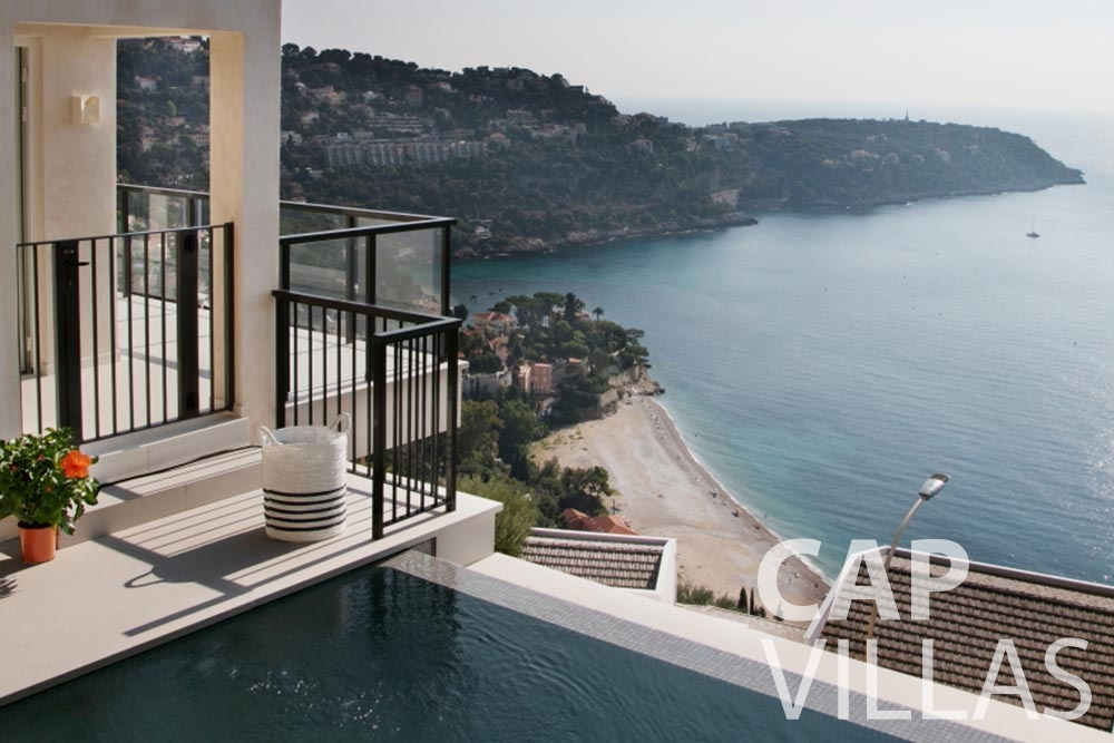 Villa Emma for rent roquebrune cap martin emma sea view
