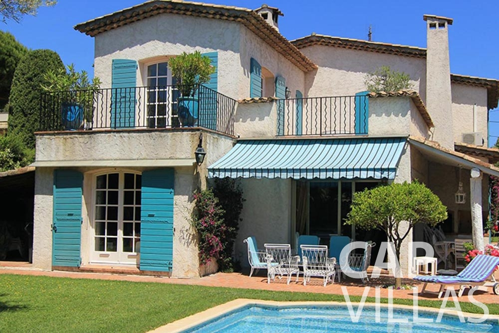 Villa Fabrizia for rent cap d antibes fabrizia property front