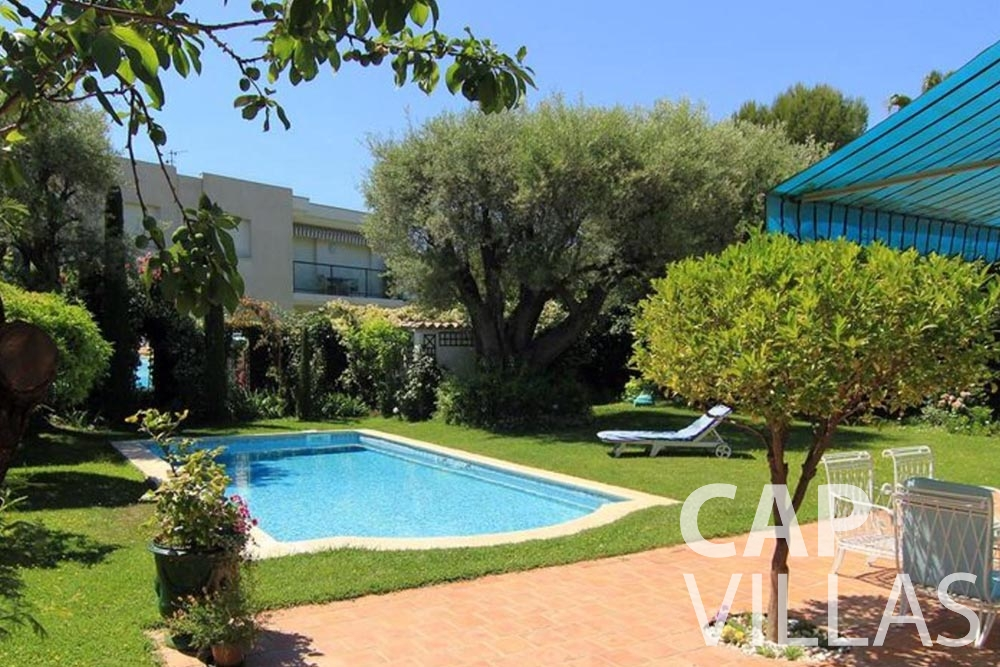Villa Fabrizia for rent cap d antibes fabrizia swimming pool