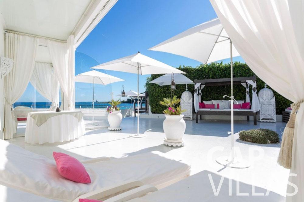 holiday rental cap antibes garoupe terrace