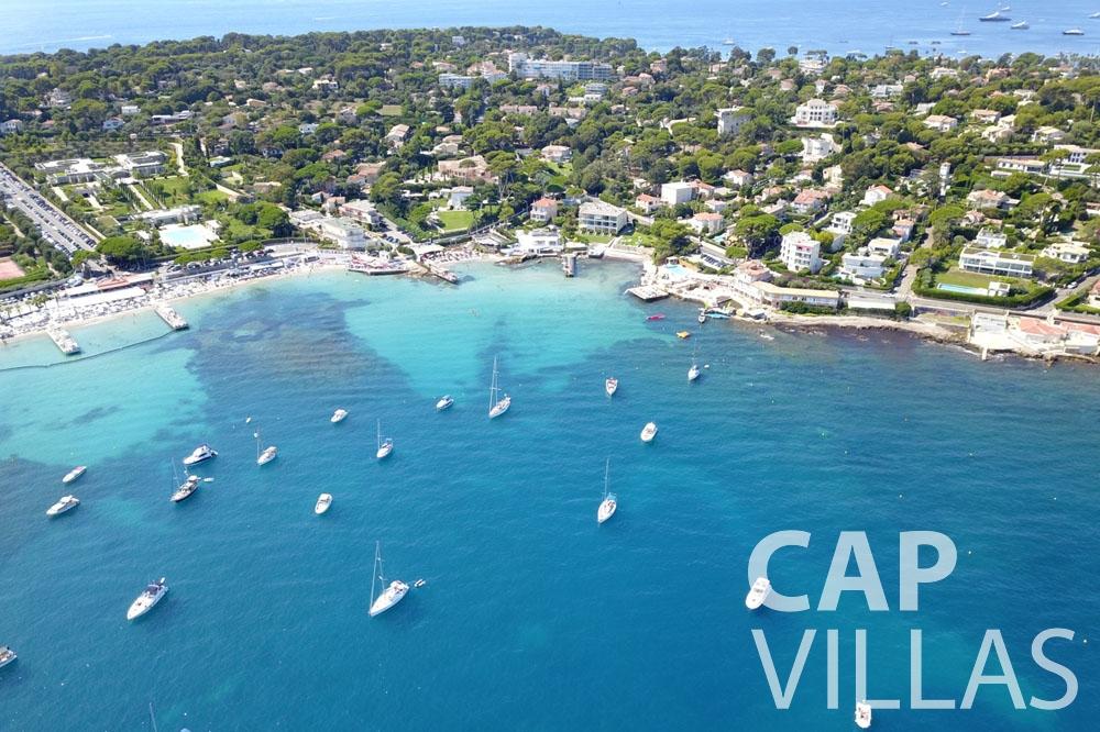 let Villa Garoupe cap antibes garoupe sea view